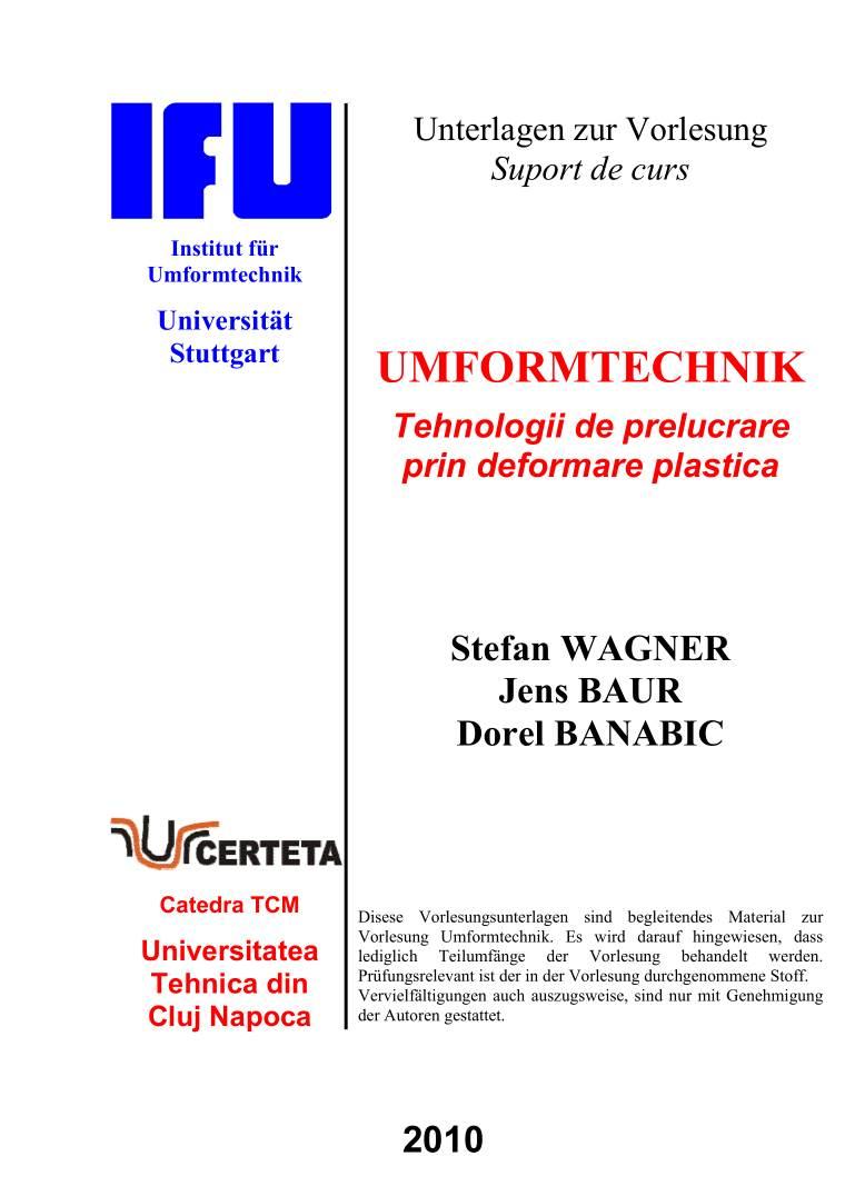 Prof. Dorel BANABIC - Publications
